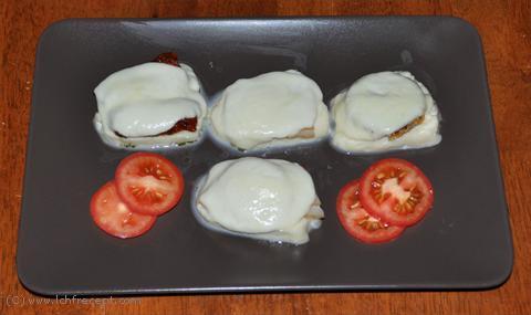 mozzarella recept lchf