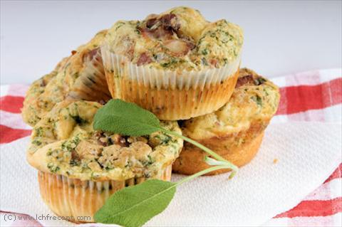 ägg bacon muffins recept